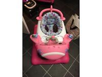 Baby walker pink