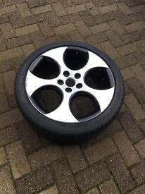 Golf gti mk6 18inch alloy wheel