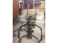 Multi gym and Ab Cruncher (weight bench)
