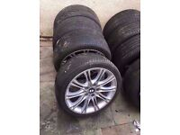 "Bmw Mv2 18"" Alloy Wheels Can Sell Single Can Post Part Ex Welcome"