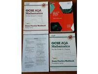 AQA GCSE Maths - Text Book & 2 Workbooks