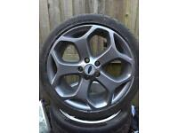 """Ford Focus st genuine 18"""" alloys and tyres"""