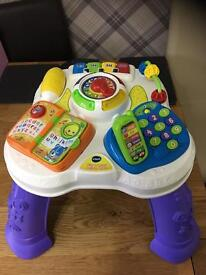 Vetch Play and Learn Activity table