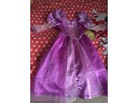 Rapunzel costume 5-6y
