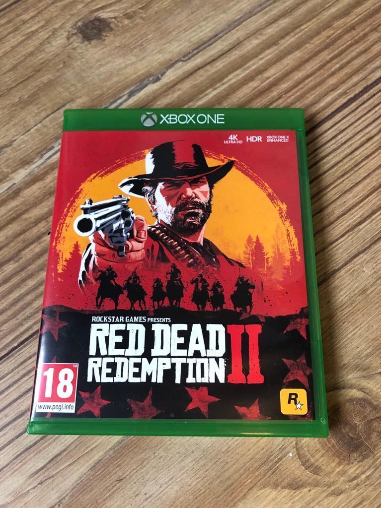 Red dead redemption Xbox one game 11 | in Bournemouth, Dorset | Gumtree