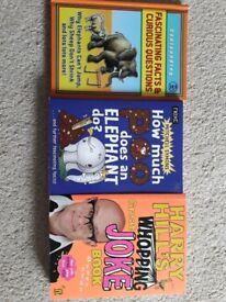 Fact and joke books