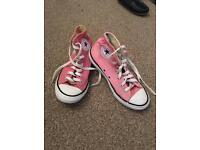 Pink Boot Converse