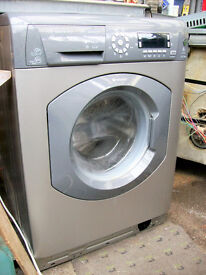 HOTPOINT WASHING MACHINE 1400 SPIN 8KG.FREE DELI VERY LOCAL TO NEW MILTON