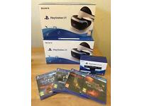Brand new sealed Limited stock Sony PSVR PS4 PlayStation ps VR headset