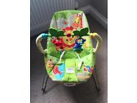 Fisher Price Rainforest Friends Vibrating Bouncer Chair