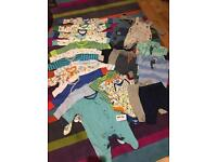 Baby boys clothes bundle from next up to 1month