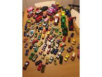 Job lot of Cars, vans and tractors