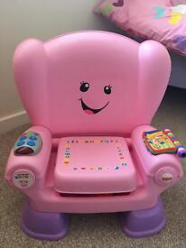 Fisher Price Activity Baby Pink Chair