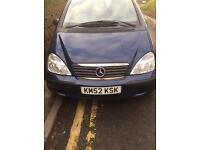 Mercedes a class ..full service history low miles 07482425890..