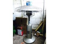 Table Top Garden Gas Heater - Never Used