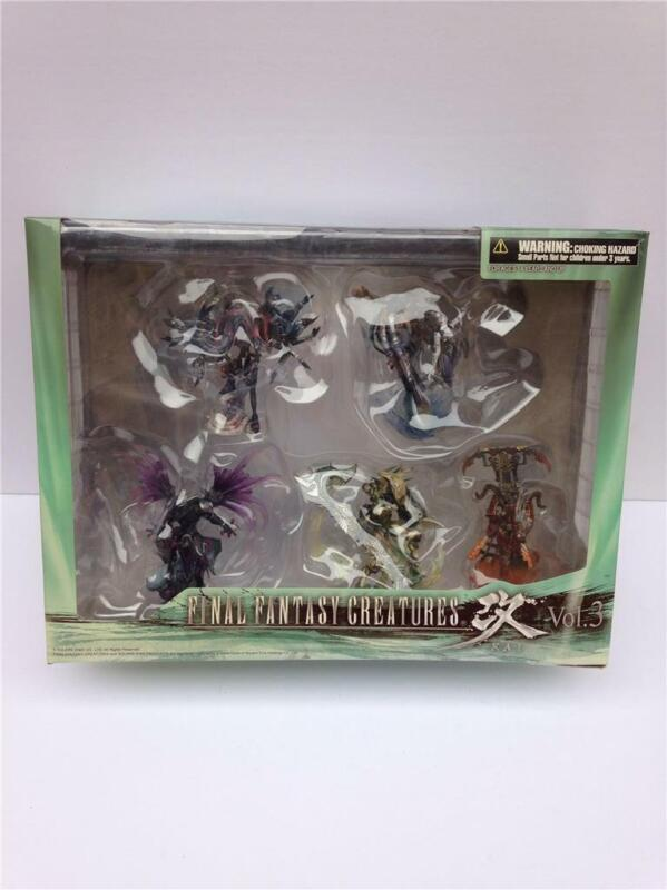 Rare Final Fantasy Creatures Kai Vol.3 Square Enix Products Box Set - NIB