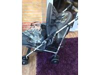 Vico Buggy with foot muff and rain cover