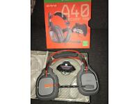 Astro a40 with m80 mix amp basically new