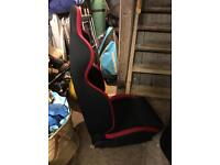 Sparco race drivers seat