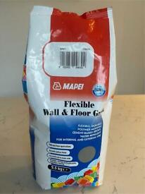 Mapei flexible wall and floor grout - grey 2.5kg