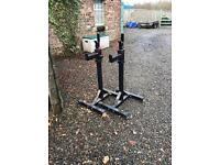 Strength shop deluxe squat stands