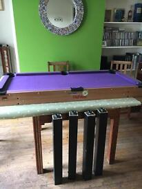 Pool/snooker table for sale - must go