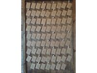 Large wedding/notice board. Rustic.