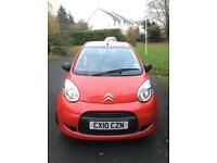 Red Citroen C1 for Sale 2010