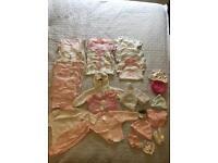 Baby girl newborn/first size bundle