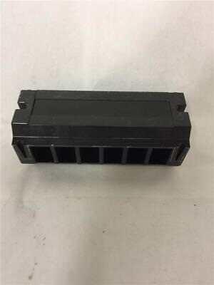 Enclosed 6 Position Screw Connector Terminal Strip Block 0183b4583p2