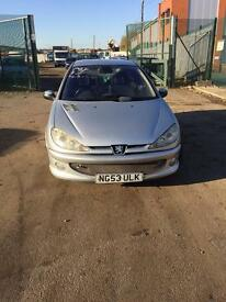 Peugeot 206 quicksilver gti rep cheap car £400