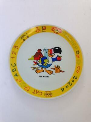 "Vintage 1983 Kellogg's Toucan Sam 7-1/4"" Plate by Papel"