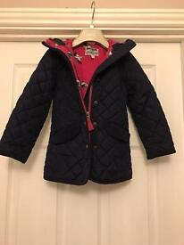 Joules - girls coat age 4
