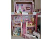 Barbie Dolls House and furniture