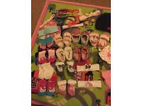 Baby shoes headband hat socks etc