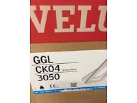 Velux ck04 pine centre pivot roof window 55x98