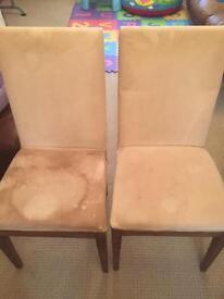Habitat dining chairs