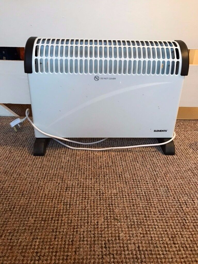 Elements Electric Convection Heater 2000W Good Condition Full