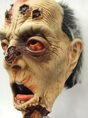 Zombie Mask He's appealing Horror Mask Halloween Quality Latex Zagone - Studio Quality Halloween Masks
