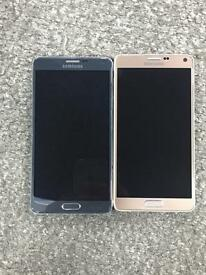 Samsung galaxy note 4 immaculate condition unlocked