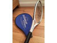 Dunlop tennis racquet with slip