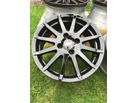 Ford Fiesta Zetec alloys and tyres