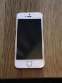 iPhone 5s rose gold colour 16gb mobile phone