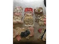 0-3 baby girl Clothing Bundle