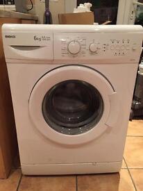 BEKO Washing Machine (WM6152W) - 6Kg AA Class 1500 rpm