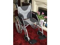 Drive Enigma Ultra Lightweight Self Propelled Wheelchair As New