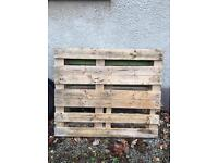 Wooden pallet. Free to go