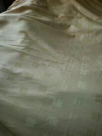 "Curtains Gold 224cm/88""x224cm/88"" aprox"