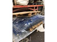 Polystyrene sheeting