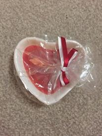 Heart shaped candle *new*